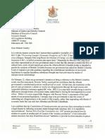 David Eby's letter to Alberta