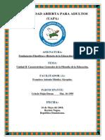 Unidad II-Fundamentos Filosoficos e Historicos de La Educacion Dominicana