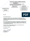 USD Letter to Community