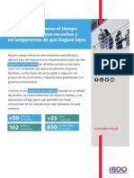 Conoce Los Servicios de BDO en Perú