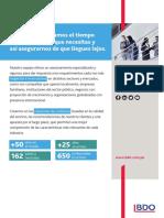Servicios para el Sector Microfinanzas - BDO