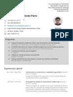 Cv Rodrigo Andrs Arvalo Parra