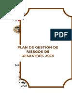 293555615 Plan de Gestion de Riesgos y Desastres Naturales Cetpro Tecnico San Hilarion