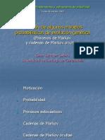 Hidden Markov Models 2005