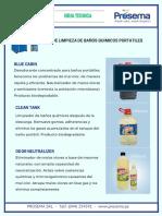 Kit Baños Químicos