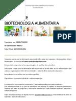Preinforme BiotecnoloGia Alimentaria Cediel Tenorio