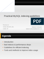 Practical Mysql Indexing Guidelines