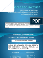 Permanencia de Inventario Diapositivas Corregido