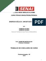 Orientações para elaboração do TCC _SENAI