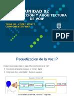 2.4 Tema 8 - Codec VoIP y Componentes VoIP