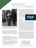 Violencia de género contra las mujeres. J. Daddor