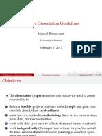 Masters Dissertation 2017