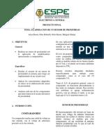 Informe Proyecto - Sensor de Proximidad