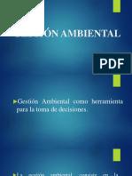 Gestión ambiental difinicon