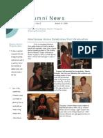 Aug 2006 Alumni Newsletter, Bowery Mission Program