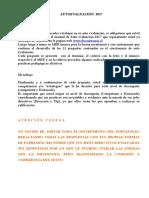 AUTOEVALUACIÓN 2017 Con InstruccionesA