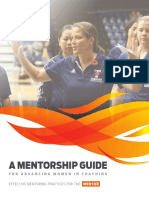 CAC Women in Coaching Mentorship Guide MENTOR