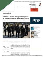 Avianca Acdac _ Ordenan a Avianca Reintegrar a Integrante de La Junta Directiva de Acdac a Sus Labores _ Actualidad _ W Radio Colombia