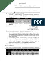 Calibracion Del Tunel de Presion de Impacto