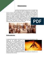 Historicismo (Terminado) 1.1