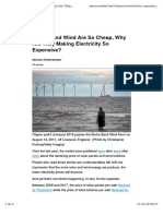 Why Eco Energy is Expensive