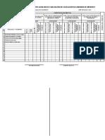 Reg Oficial Pajonal 2018