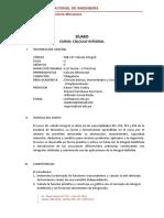 MB147 - Calculo Integral Oficial 2018