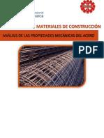 Informe de Acero Materiales1