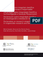 Código de Ética e Integridade Científica UCatolica Portuguesa- UBarcelona