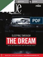 Sleeping Through the Dream • PIQUE Newsmagazine FEATURE (2017)