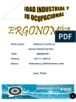 ergonomia - monografia
