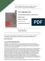 Calligraphic State