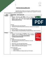 Lista Libros Seccion Media Inicial