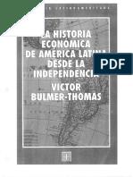 S.1 Bulmer-Thomas (1994) La Historia Economica de America Latina. Pp 11-31