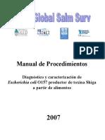 Manual Escherichia Coli2007