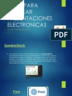 SITIOS PARA PUBLICAR PRESENTACIONES ELECTRONICAS.pptx