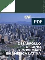 Desarrollo urbano y Movilidad América latina