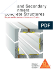 Water and Secondary Containment Concrete Structures-JointsCracks