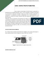 Actividades Espectrofotometría
