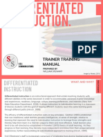 CUR/518 Train the Trainer Manual