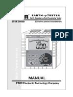 ETCR3000B Manual.en.Es