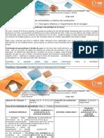 Guía de Actividades y Rúbrica de Evaluación - Unidad 1. Capítulo 1. Conceptos Básicos e Importancia de La Imágen