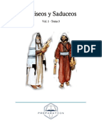Fariseos y Saduceos Vol 1 - Tema 3