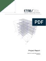 ETABS 2016 16.2.1-Report Viewer
