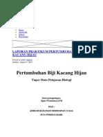 BIOLOGI LAPORAN PETRA CAA 115 069