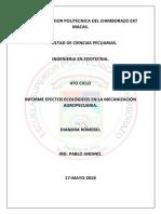 Infor Mecanizacion