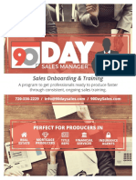 90 Day Sales Booklet