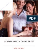 Conversation Cheat Sheet