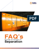 Guide to Forms of Separation