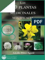 Las 200 Plantas Medicinales Mas Eficaces - Adolfo Agustí Pérez.pdf